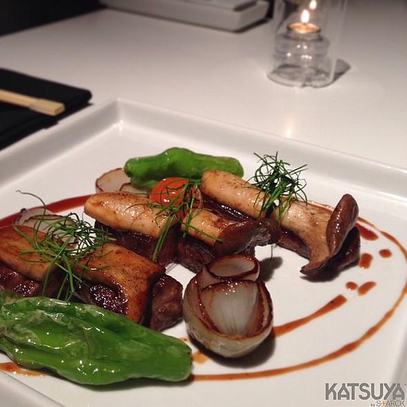 Foie Gras W/ Kobe Beef And Trumpet Mushroom - Katsuya- Brentwood, Brentwood, CA