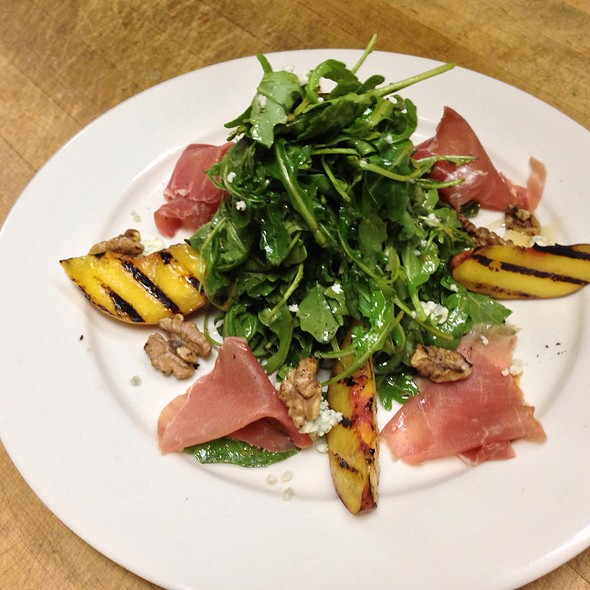 Salad Special With Grilled Peaches - Fellini Cafe: Newtown Square, Newtown Square, PA