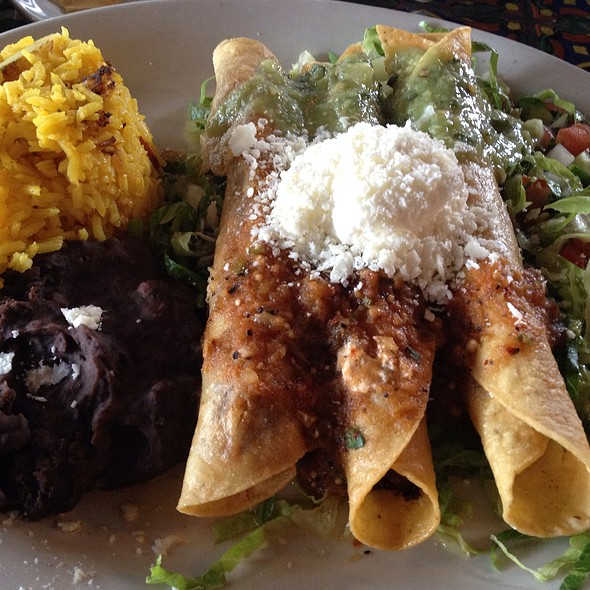 Beef Brisket Flautas - Ninfa's on Navigation, Houston, TX