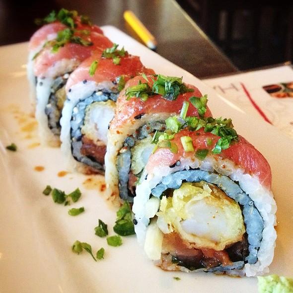 Fire Dragon Roll - Pure Sushi Scottsdale, Scottsdale, AZ