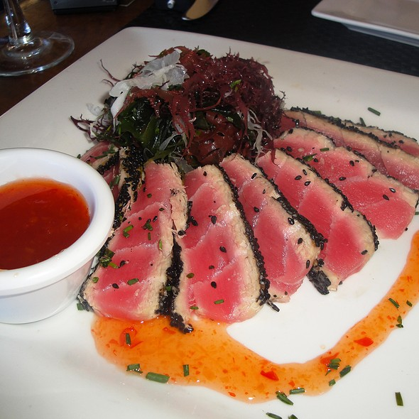 Seared Ahi Tuna - Peaks Restaurant, Palm Springs, CA