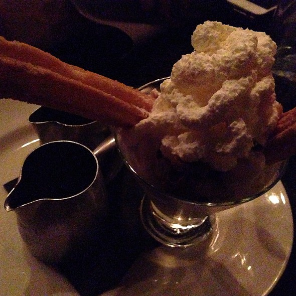 Hot Fudge Brownie Sundae - Dos Caminos – Meatpacking, New York, NY