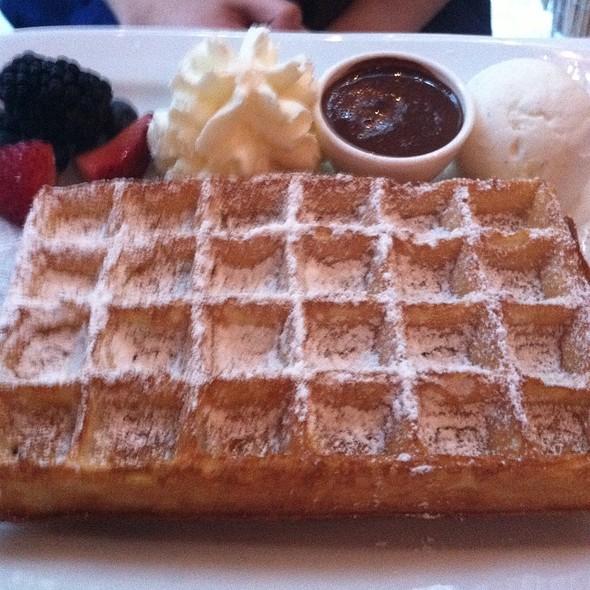 Belgian Waffle - B. Cafe, New York, NY