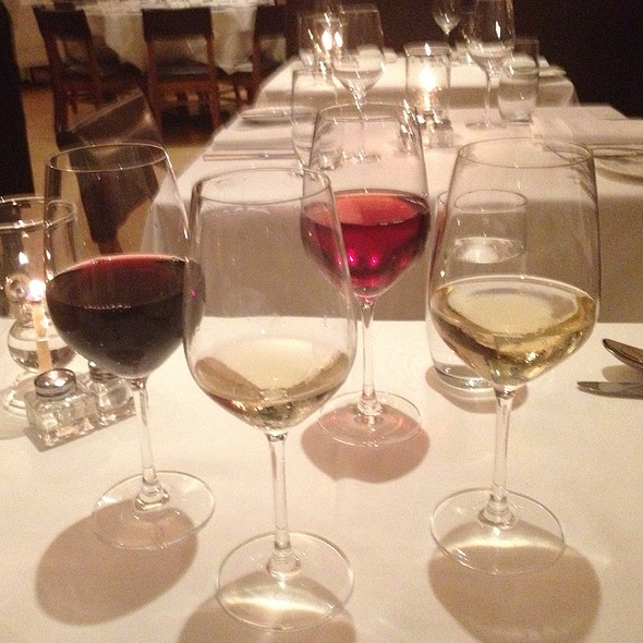 Wine Pairings - Telepan, New York, NY