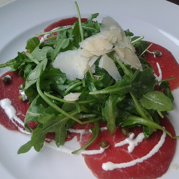 Beef Carpaccio - Pistache French Bistro, West Palm Beach, FL