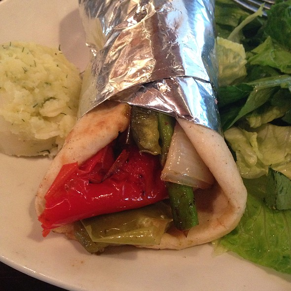 Veggie Sandwich - Taverna Kyma, Boca Raton, FL
