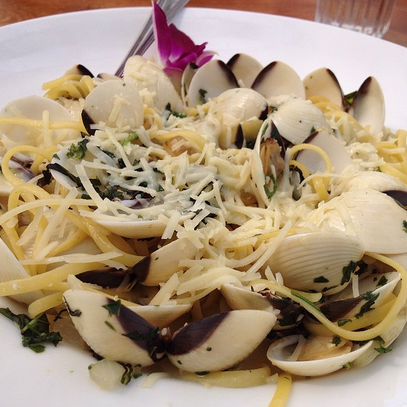 Linguini and Clams - Nikki Beach, Miami Beach, FL