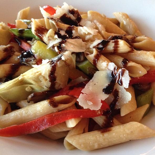 Whole Wheat Pasta With Seasonal Veggies, Garlic, Spring Onions, Pecorino Cheese - Watertable, Baltimore, MD