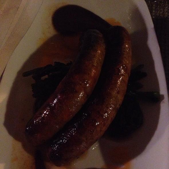 Lamb Sausage - Siroc Restaurant, Washington, DC
