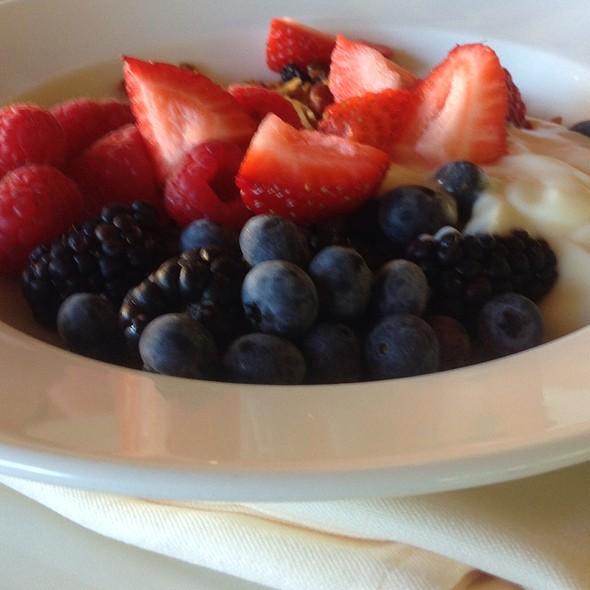 Granola Yogurt Parfait - Stonehouse at San Ysidro Ranch, Santa Barbara, CA