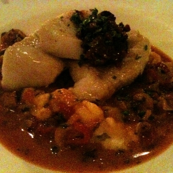 Poached Black Cod - Fringale, San Francisco, CA