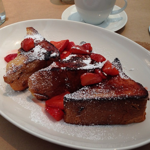 brioche french toast - Mayfield Bakery & Cafe, Palo Alto, CA