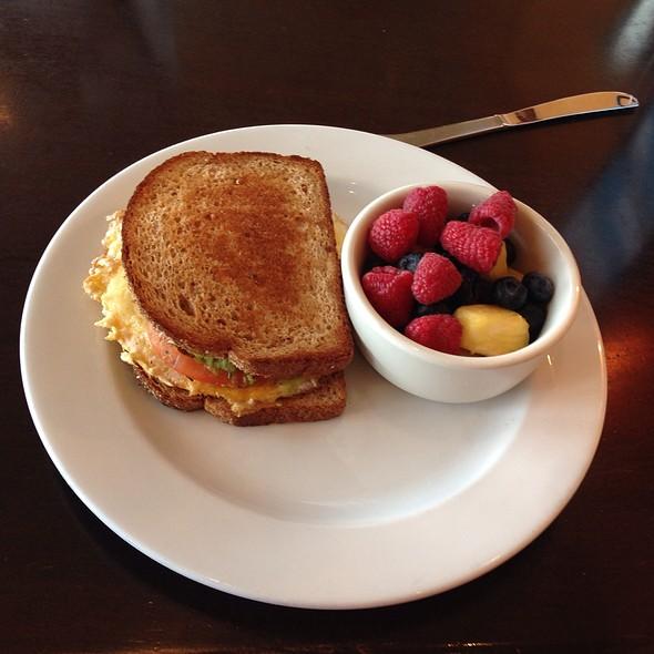Egg And Bacon Sandwich - Beach Cafe, Kirkland, WA