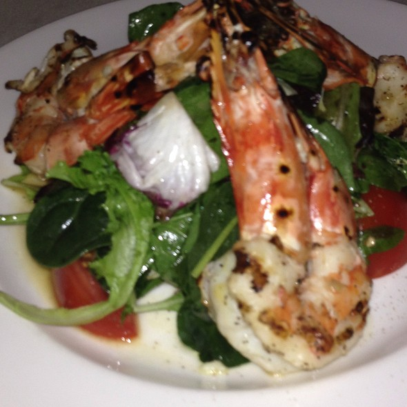 Grilled Prawns Over Greens - La Masseria, New York, NY