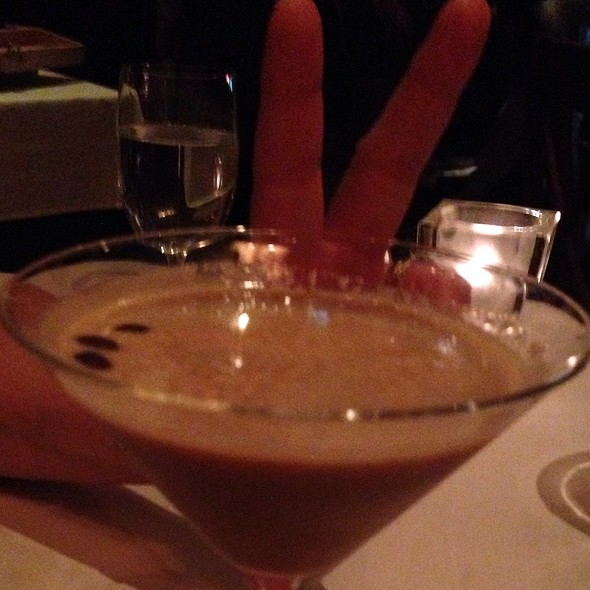 Expresso Martini - La Masseria, New York, NY