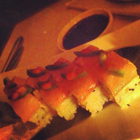 Yellowtail Jalapeño Sushi Roll - Lure New York, New York, NY