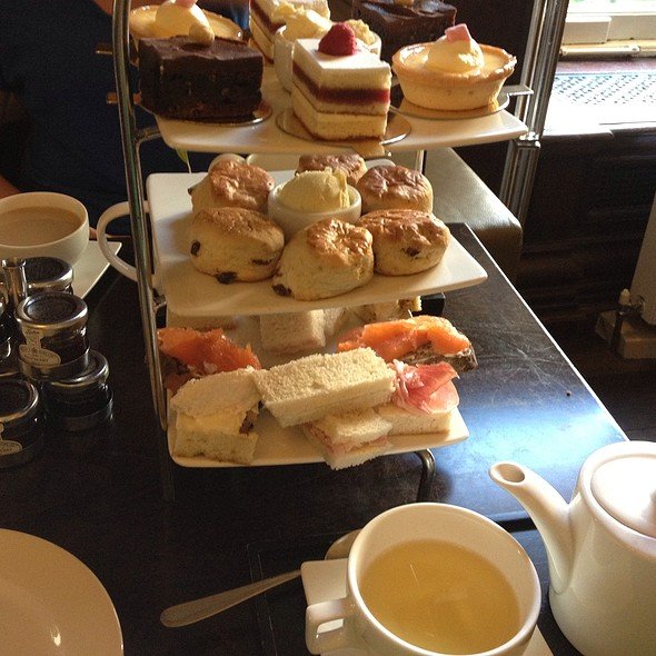 Afternoon Tea - The Grosvenor Arms and Lounge, London