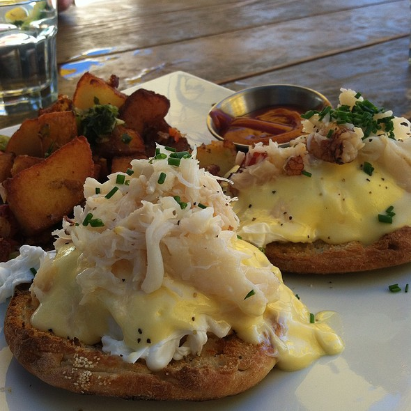 Dungeness Crab Eggs Benedict - Mission Rock Resort, San Francisco, CA