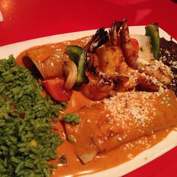 Filet Mignon And Shrimp Enchilada - El Torito Grill - Irvine, Irvine, CA