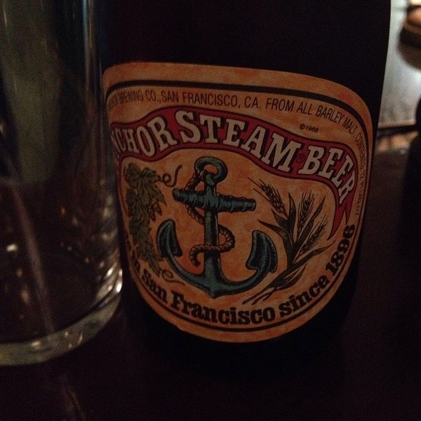 Anchor Steam Beer - The Drapers Arms, London