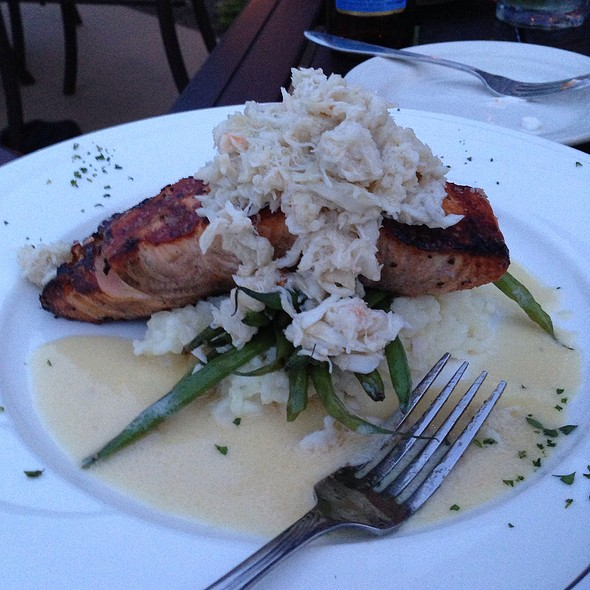 Chargrilled Salmon - Grille & Pub at Hartefeld National, Avondale, PA