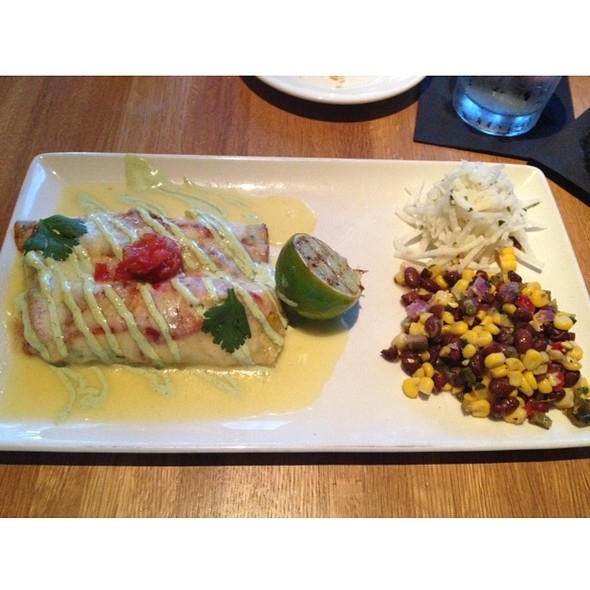 Shrimp Enchiladas - Devon Seafood + Steak - Hershey, Hershey, PA