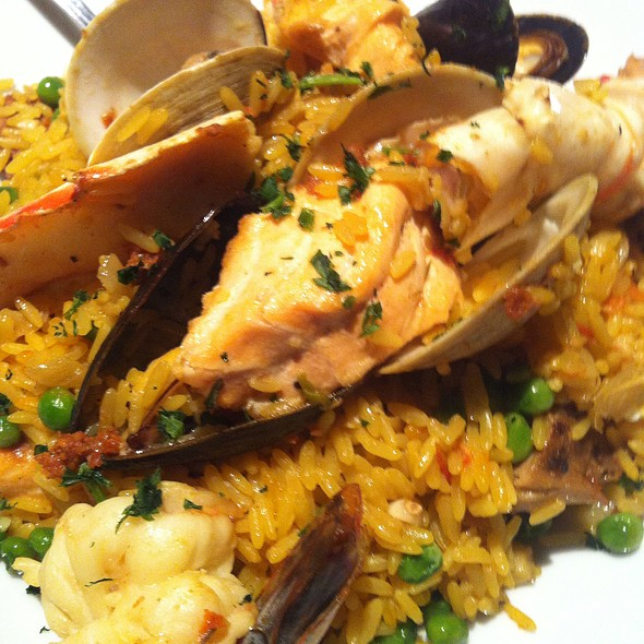 Seafood Paella - Sea Watch Restaurant, Fort Lauderdale, FL