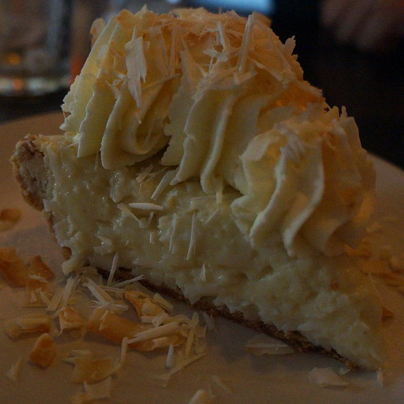 Triple Coconut Cream Pie - Etta's Seafood, Seattle, WA