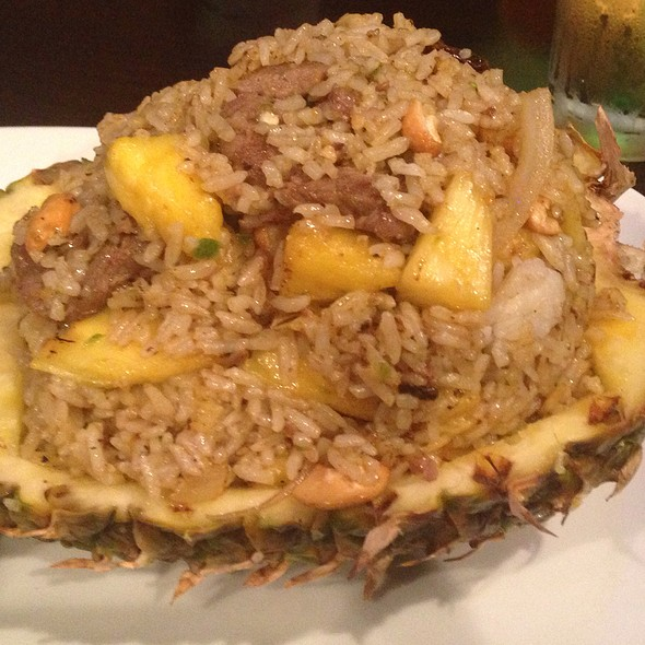 Pineapple Fried Rice with Chicken - Simply Thai, Louisville, KY
