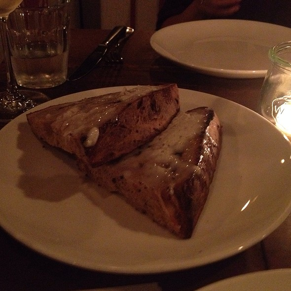 Homemade Bread And Lardo - Sotto Los Angeles, Los Angeles, CA