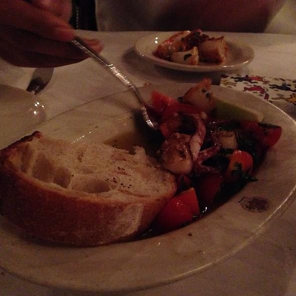 Grilled Calamari - B. Cafe, New York, NY
