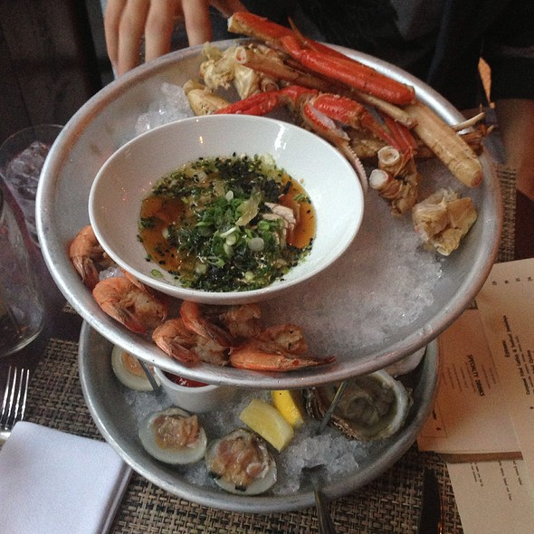 Seafood Tower - NOLA oyster bar, Norwalk, CT