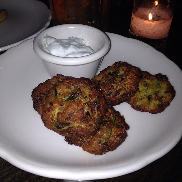 Zucchini Fritters - Harding's, New York, NY