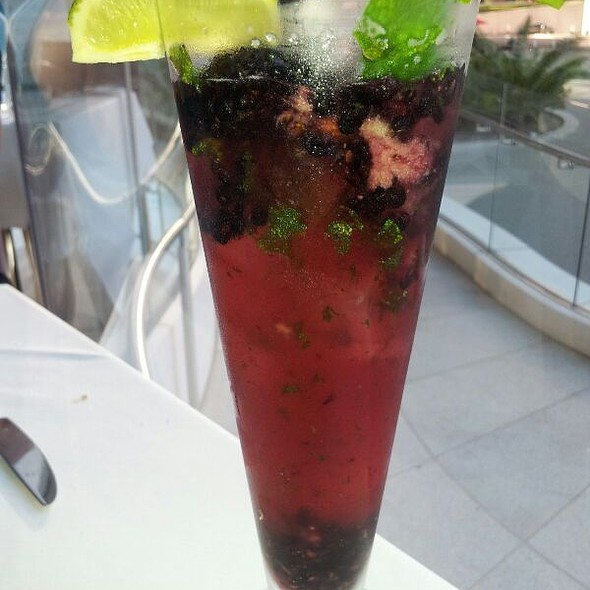 Blackberry Mojito - Leatherby's Cafe Rouge, Costa Mesa, CA