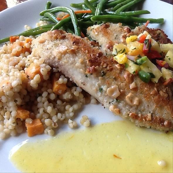 Tilapia W/ Jamaican Rum Butter And Sweet Potato Cous Cous - McCormick & Schmick's Seafood - Cincinnati, Cincinnati, OH
