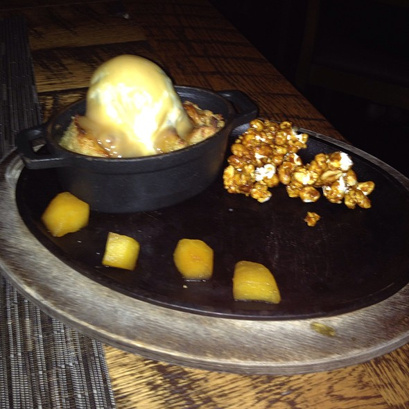 Butterscotch Bread Pudding - The Oak Table, Columbia, SC
