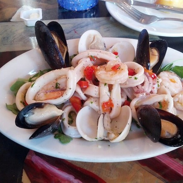Seafood salad ❤ - Cafe Gia Ristorante, Baltimore, MD