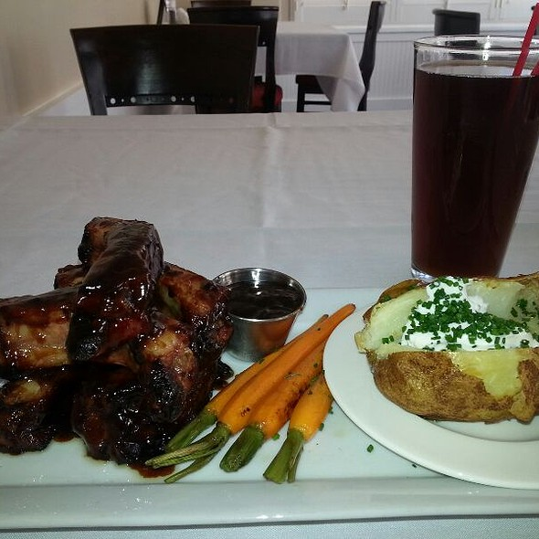 Hoisin BBQ Babyback Ribs - The Palace Restaurant and Saloon, Santa Fe, NM