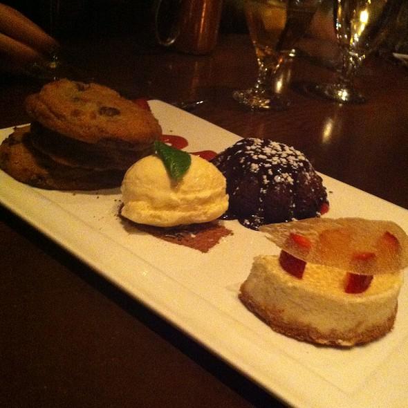 Dessert Platter - Jimmy's An American Restaurant & Bar, Aspen, CO