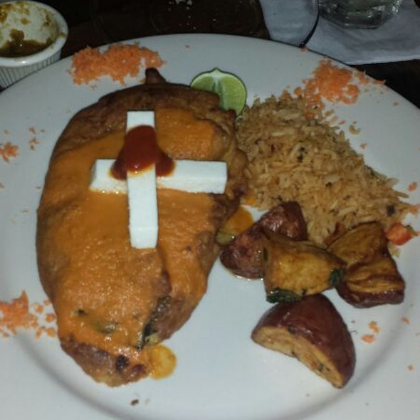 Chilles Rellenos - Tila's Restaurante & Bar, Houston, TX
