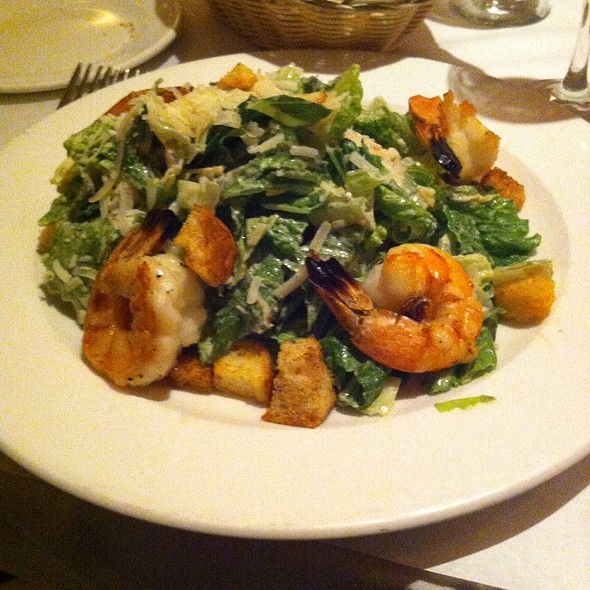 Caesar Salad With Shrimps - Jack's Restaurant & Bar - NYC, New York, NY
