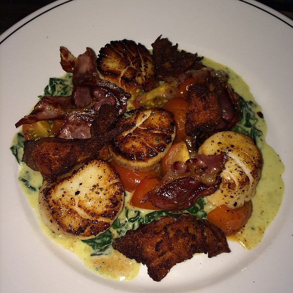 Viking Village Sea Scallops - Woodberry Kitchen, Baltimore, MD