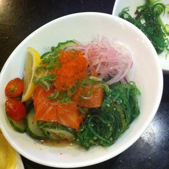 Salmon Poki - Wasabi & Ginger, San Francisco, CA