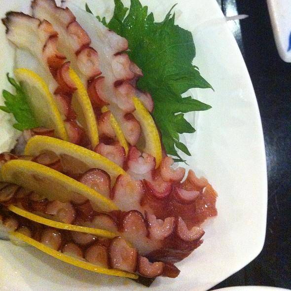 Octopus Sashimi - Wasabi & Ginger, San Francisco, CA