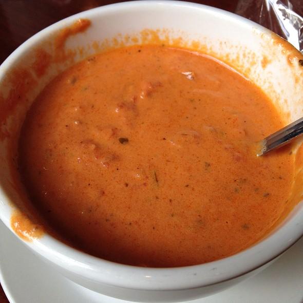 Tomato Bisque Soup - Sava's, Ann Arbor, MI