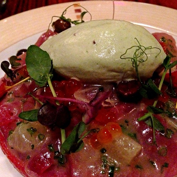 Tuna Carpaccio - Fiola, Washington, DC