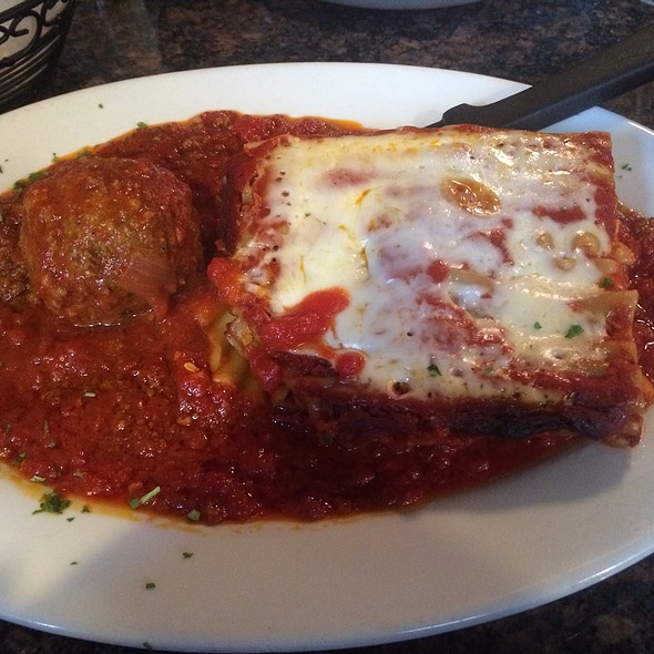 lasagna - Al Dente Restaurant, Boston, MA