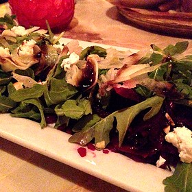 Beets, Dandelion, And Hazelnuts - Lucky's Lounge, Boston, MA