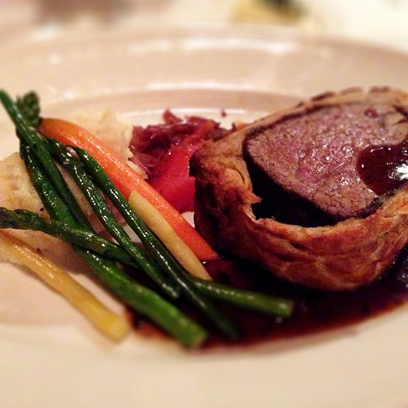 Beef Wellington - Sir Winston's Aboard The Queen Mary, Long Beach, CA