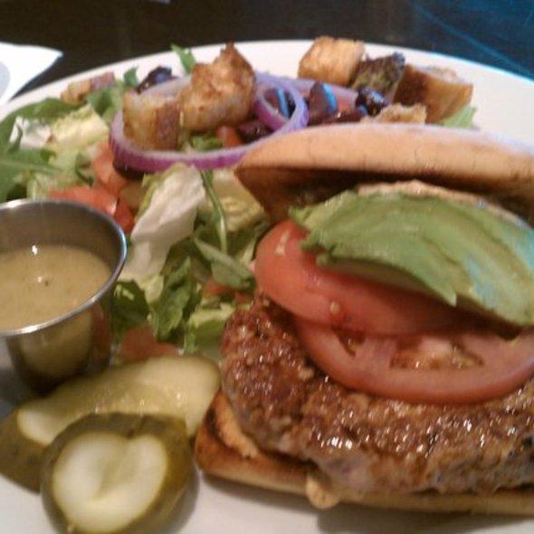Grilled Tuna Burger - Sonoma Bistro & Wine Bar, Tulsa, OK